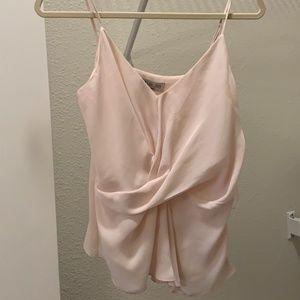 Blush Pink Wrap Tank